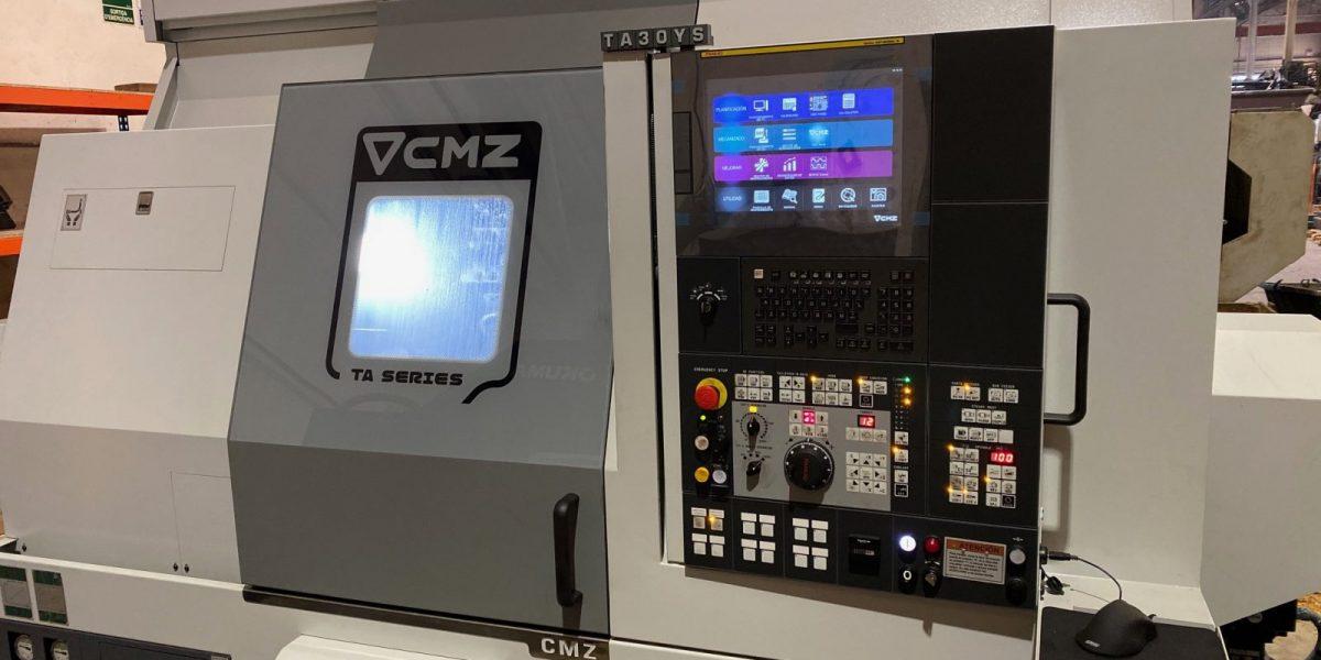 Torno CMZ TBI 520 MC